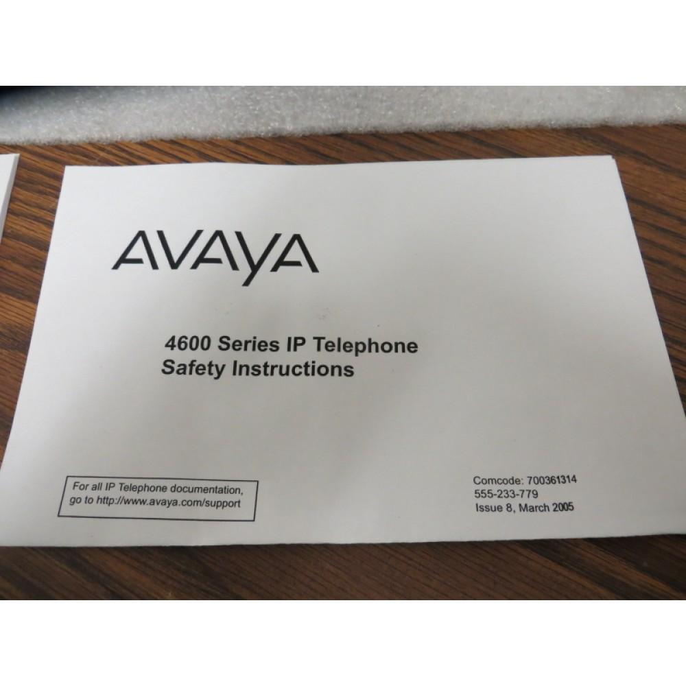 Avaya 4625SW IP-Phone Gray Refurbished by Avaya in Open Box