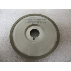 "Diamond 3/"" x 9//16/"" x 20 mm kw Saucer Style 15A9 Side Grinding Wheel 180 Grit New"