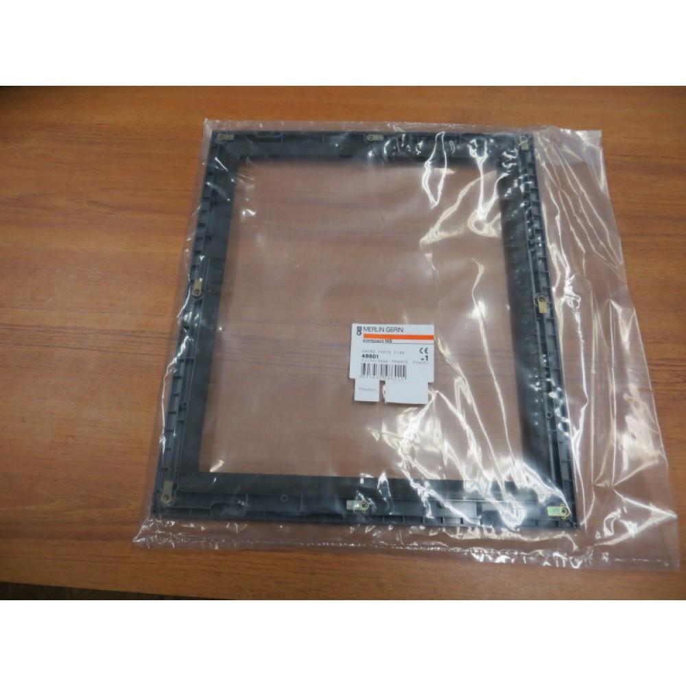 Schneider Electric Merlin Gerin 48601 Carde Porte Fixe Escutcheon Plate New