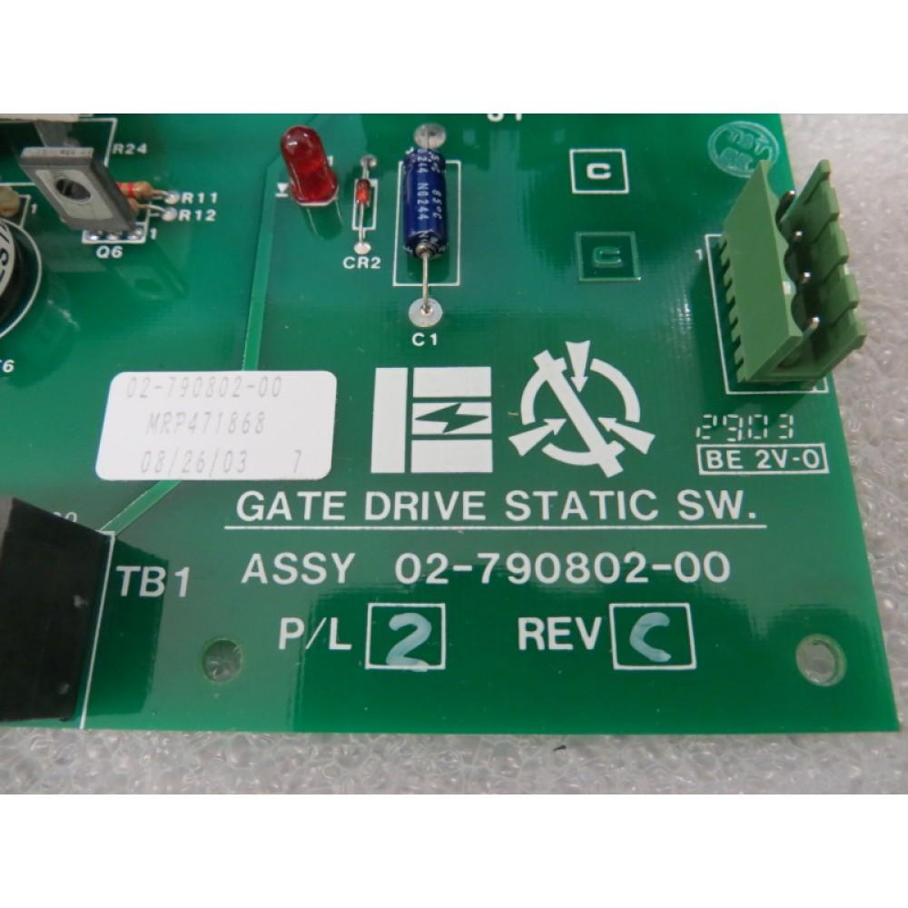 Liebert Emerson 02-790802-00 Gate Drive Static SW Board P/L