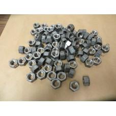 "12 Pcs. 1//2""-13 Heavy Duty Hex Solid Brass Manifold Nuts U.S.A"