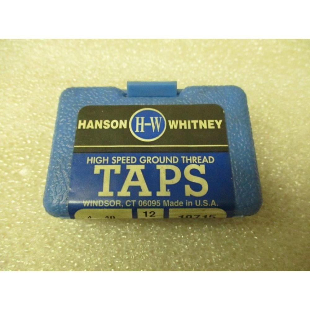 Hanson Whitney 4-48 NF HS Spiral Flute HS Plug Tap GH2 U.S.A.